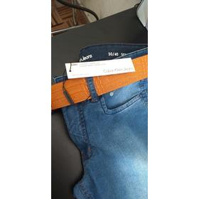 Calça Jeans Calvin Klein Skinny Tam 40 Nova