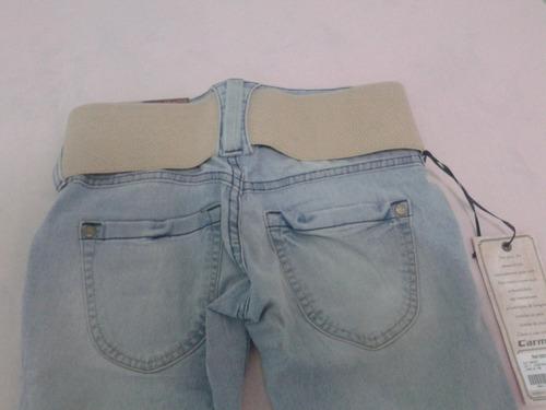 calça jeans carmim nova sem uso