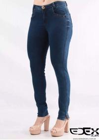 1b1fee9a50 Calça Jeans Edex Cigarreti Modeladora 7010 Com Lycra