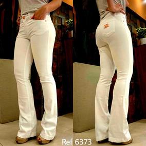 760d8cf9a Calcas Femininas Flare Jeans Sawary - Calças Jeans Feminino Rosa claro no  Mercado Livre Brasil