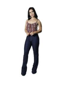 04e63a052 Calça Jeans Boca De Sino Flex - Calçados, Roupas e Bolsas no Mercado ...