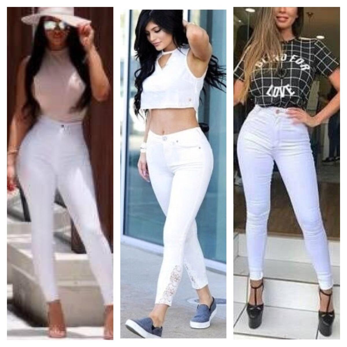 cd8c73d13 calça jeans cintura alta hot pants levanta bumbum preto moda. Carregando  zoom.