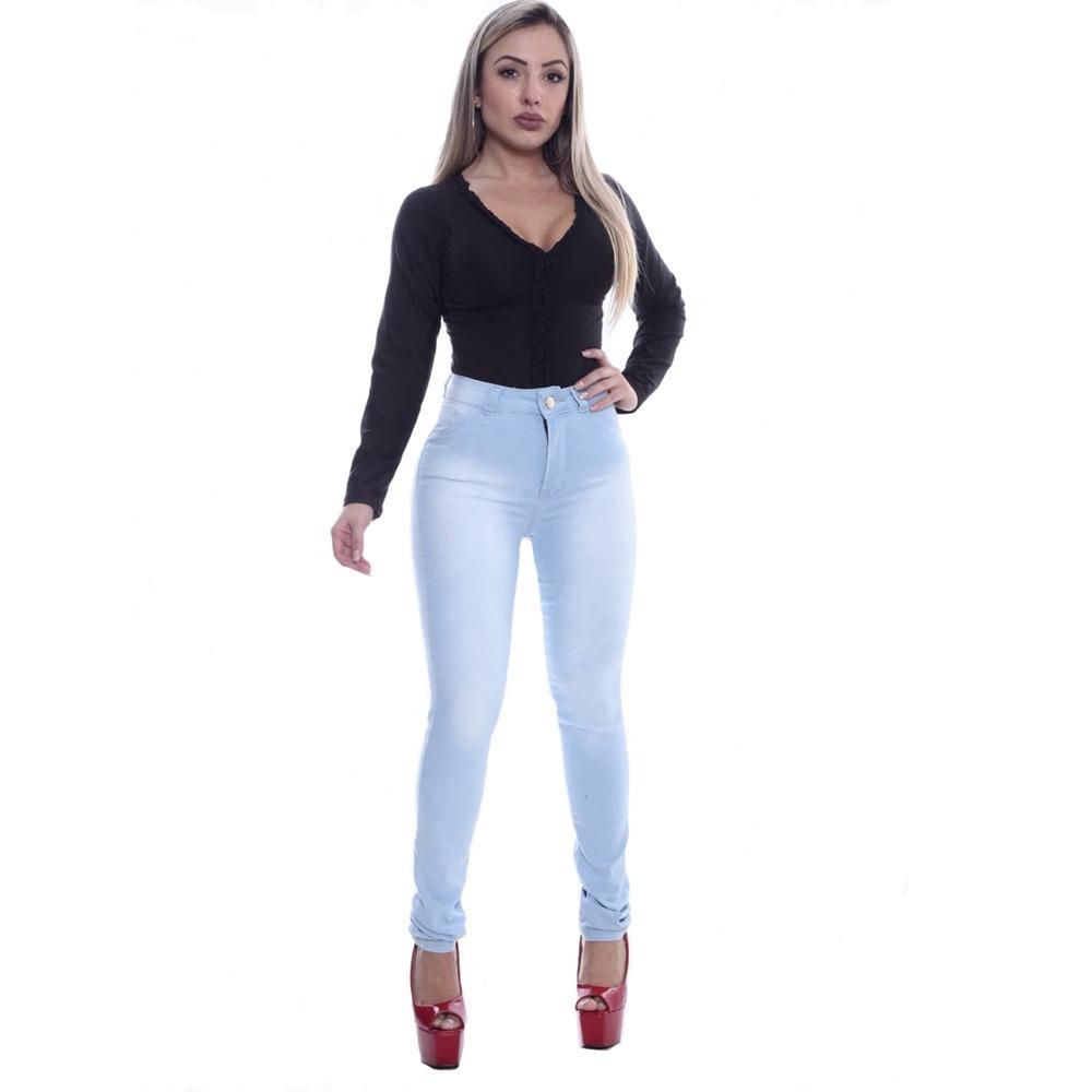 96fd205f2 calça jeans cintura alta hot pants levanta bumbum promoção. Carregando zoom.