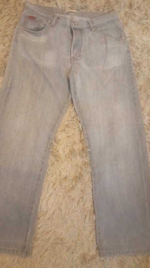 65fc0f4f4 calça jeans cinza m.officer nova. Carregando zoom.