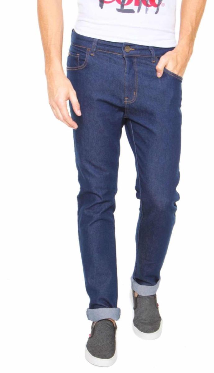 2a107860a calça jeans coca-cola jeans skinny pesponto azul 50041. Carregando zoom.