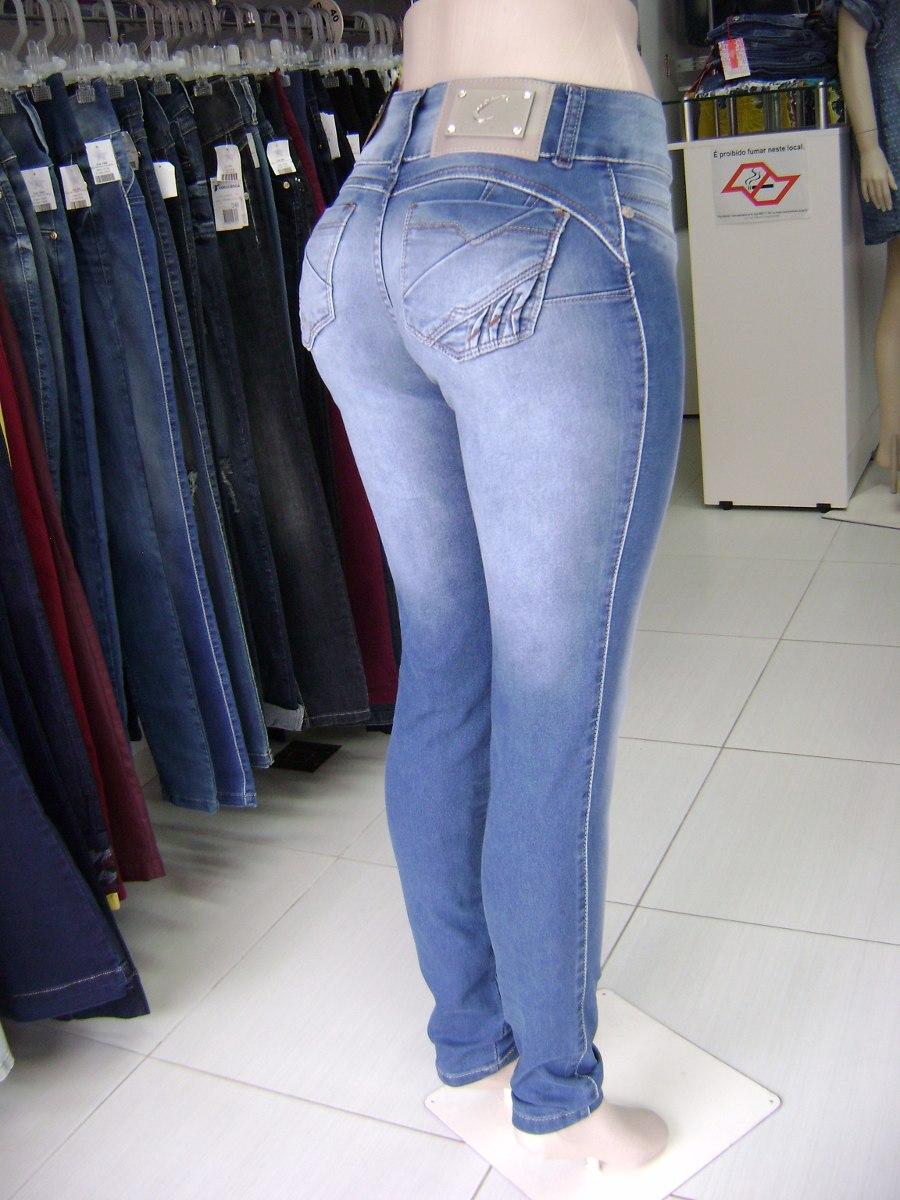 0fcf8d2b40 calça jeans com bojo modela e aumenta bumbum promoção última. Carregando  zoom.