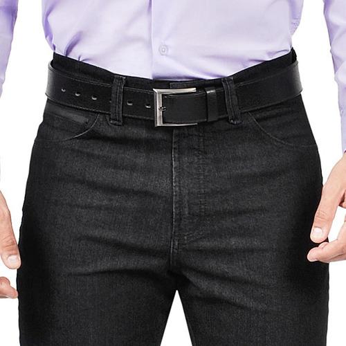 calça jeans com lycra slin masculina