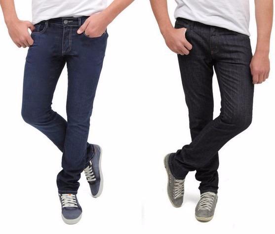 5fb61e919 Calça Jeans Com Lycra Stretch Masculina Skinny Caution - R  44