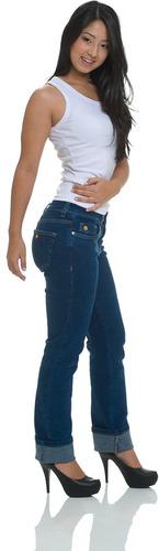 calça jeans com tecnologia japonesa