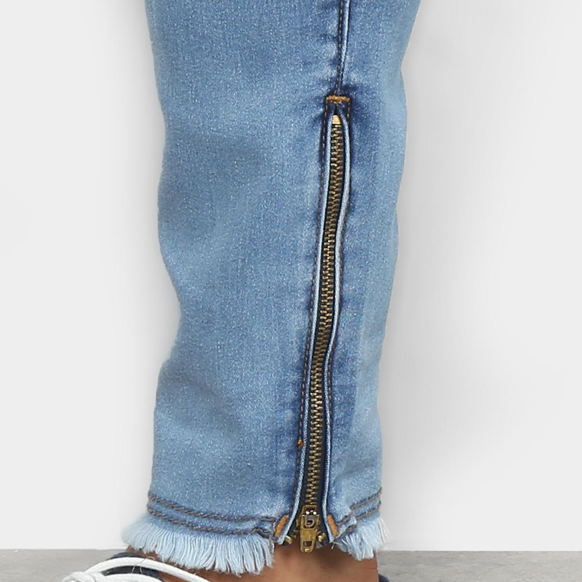 0972256d2 Calça Jeans Cropped Preston Destroyed Masculina - R$ 149,99 em ...