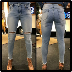 a59559592 Calça Jeans Disparate Tamanho 34 - Calças Feminino no Mercado Livre ...