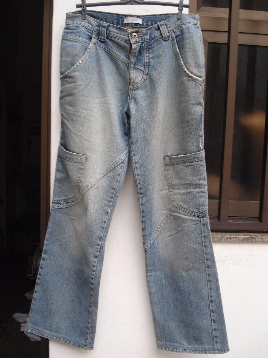 4c939b428 Calça Jeans Da M. Officer C  Bolsos Nas Pernas Tam 38 - R  85