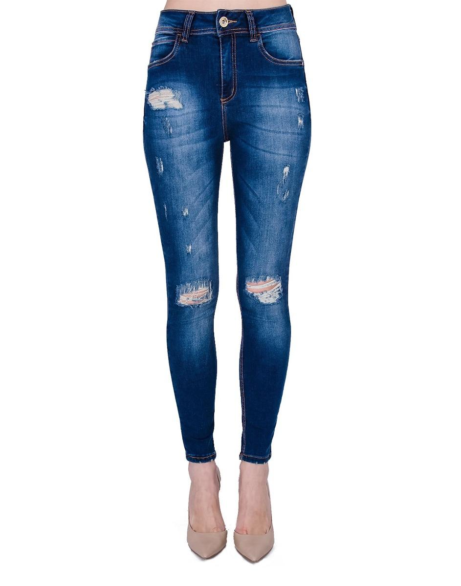 eca2de74e calça jeans destroyed extreme power colcci original nova. Carregando zoom.