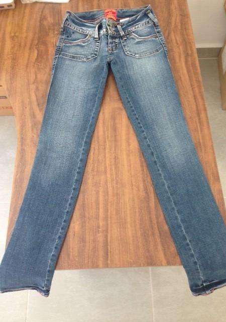 9c27a536b Calça Jeans Elastano Feminina - Colcci - Original - R$ 55,49 em ...