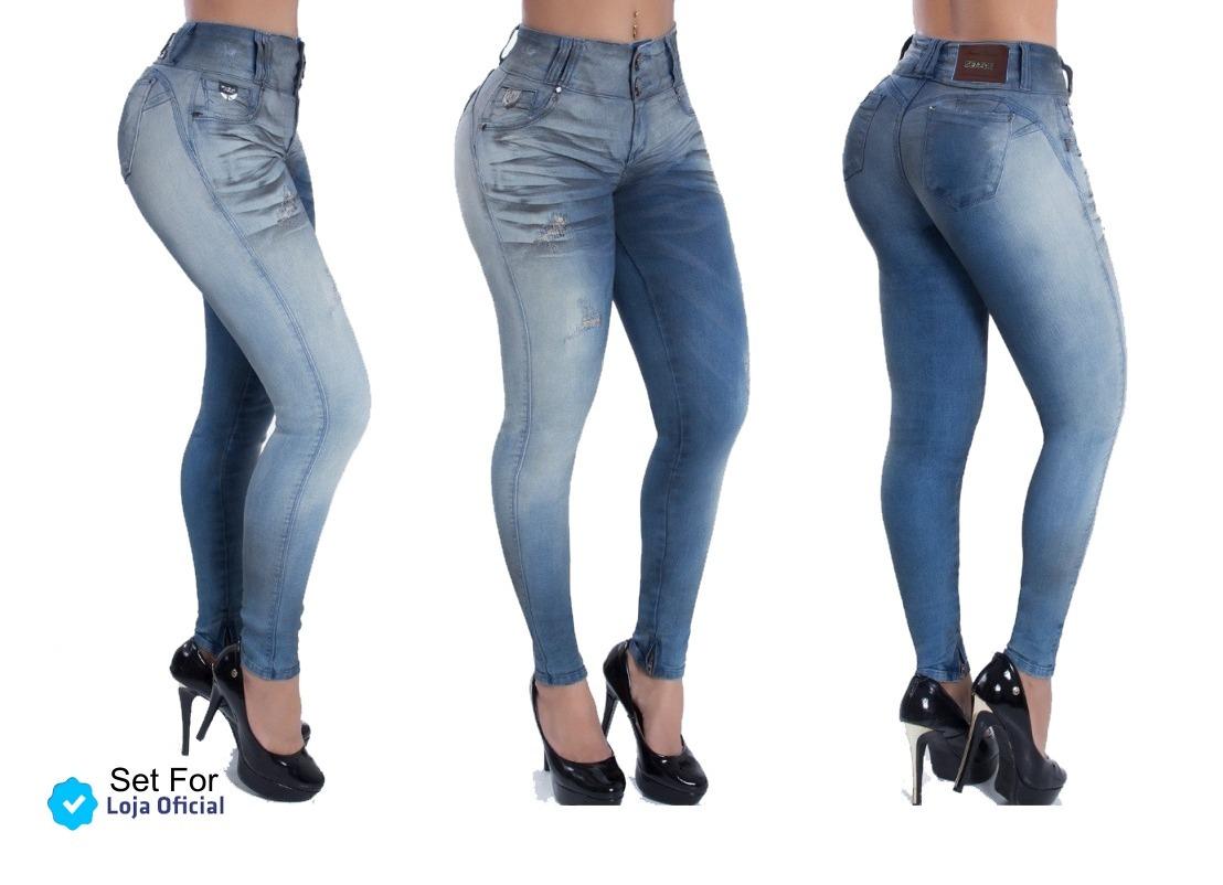 087dd428f Calça Jeans Estilo Pitbull Promoção - R$ 138,99 em Mercado Livre