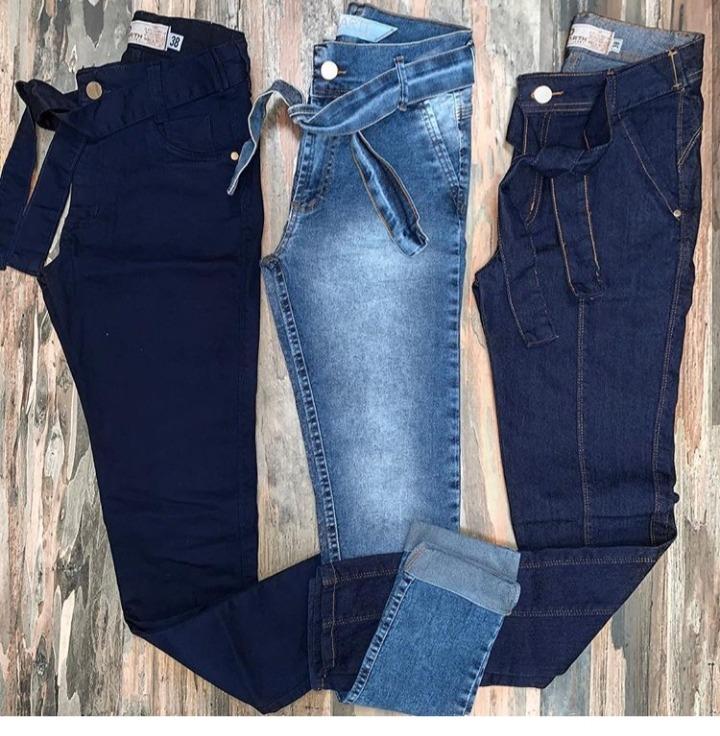 cdd2060bd Calça Jeans Feminina Barata Valor Atacado Com Lycra 2019 - R$ 69,98 ...