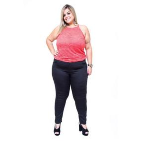 8893f19ab Calça Jeans Credencial Plus Size Flare Jessiane Preta · Calça Jeans Feminina  Bokker Plus Size Skinny Erida Preta
