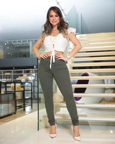 7b6b3e55f Linda Calca Nuxx Preco Muito - Calças Calvin Klein Feminino no ...