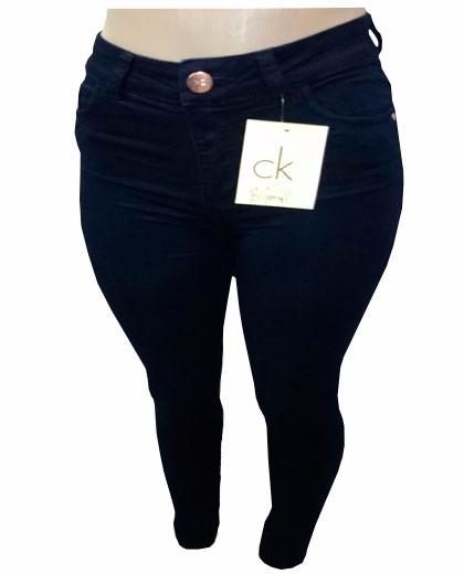 Calça Jeans Feminina Calvin Klein Azul Escuro Ck1 - R  109,90 em ... 3ad1b3caed