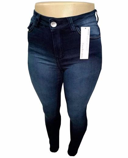 Calça Jeans Feminina Calvin Klein Escuro Mesclado - R  119,90 em ... 2cdc8216b1