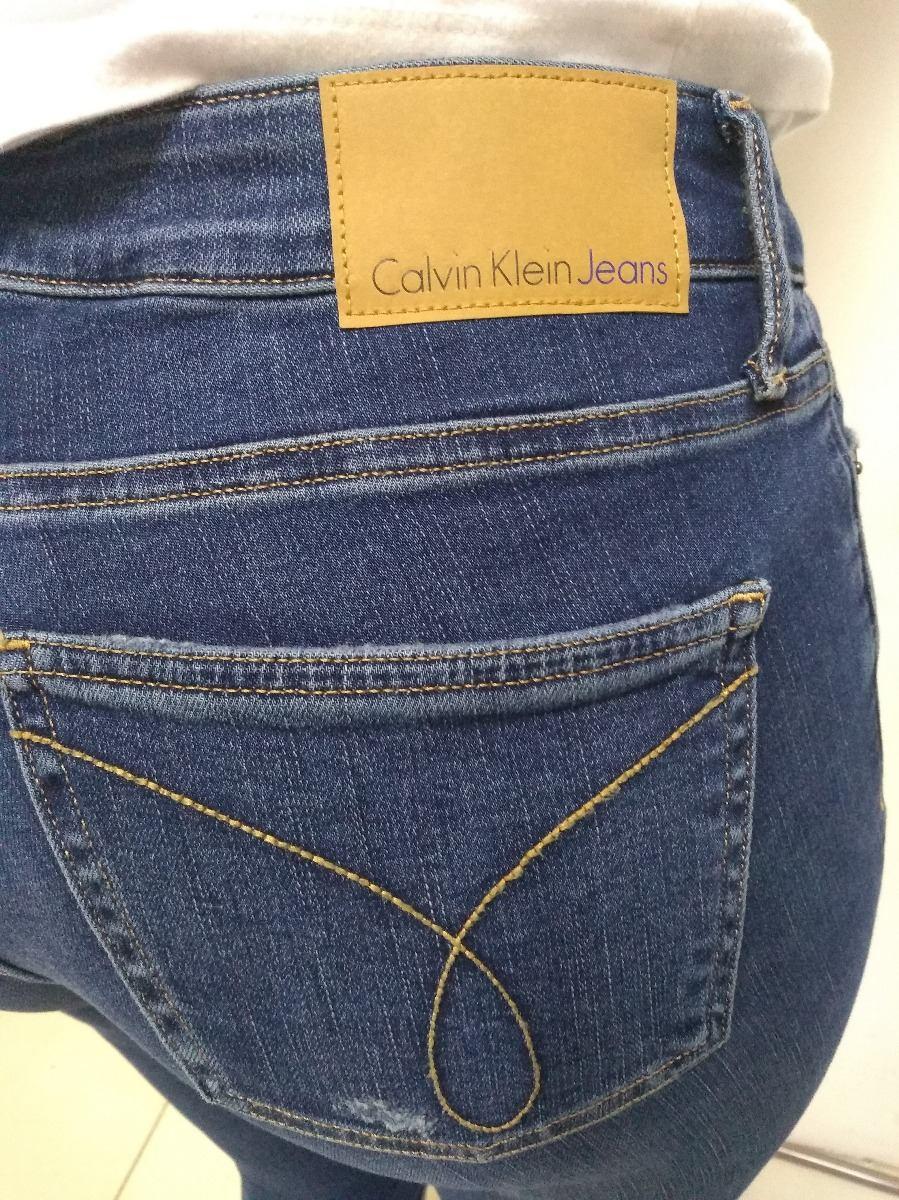 0141a8f81d606 Calça Jeans Feminina Calvin Klein Original - R  250,00 em Mercado Livre
