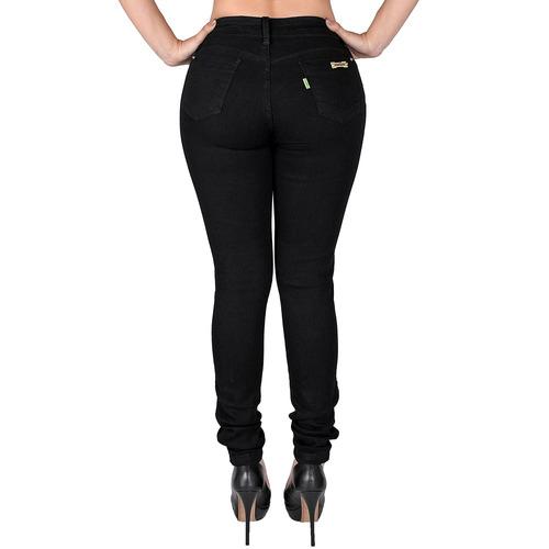 calça jeans feminina cintura alta com lycra lançamento 2018