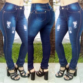 25f70e7e8 Calças Jeans Feminina No Atacado Direto Da Fabrica 23,90 - Calças no  Mercado Livre Brasil