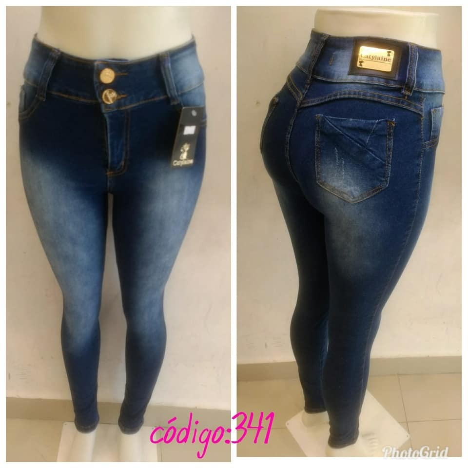 9bf509329 calça jeans feminina cintura alta hot pants estilo pit bull. Carregando zoom .