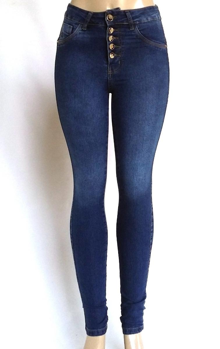 d5f63858020 calça jeans feminina cintura alta skinny hot pants cós 1009. Carregando  zoom.
