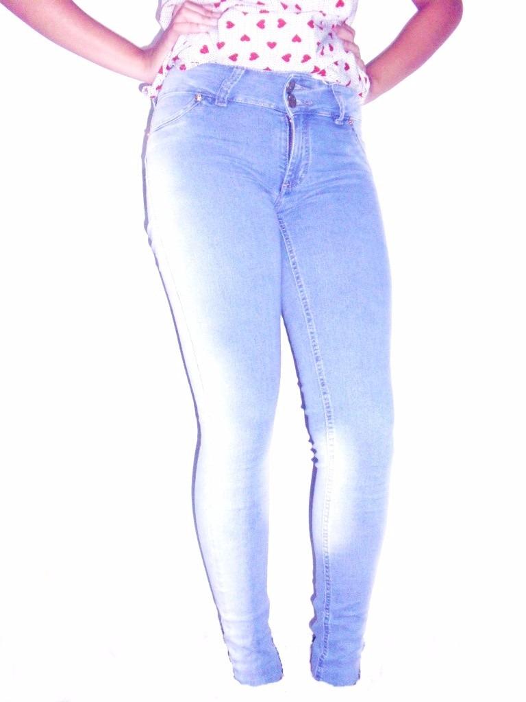 ead86d8dfc calça jeans feminina cós médio lavagem clara promoção. Carregando zoom.
