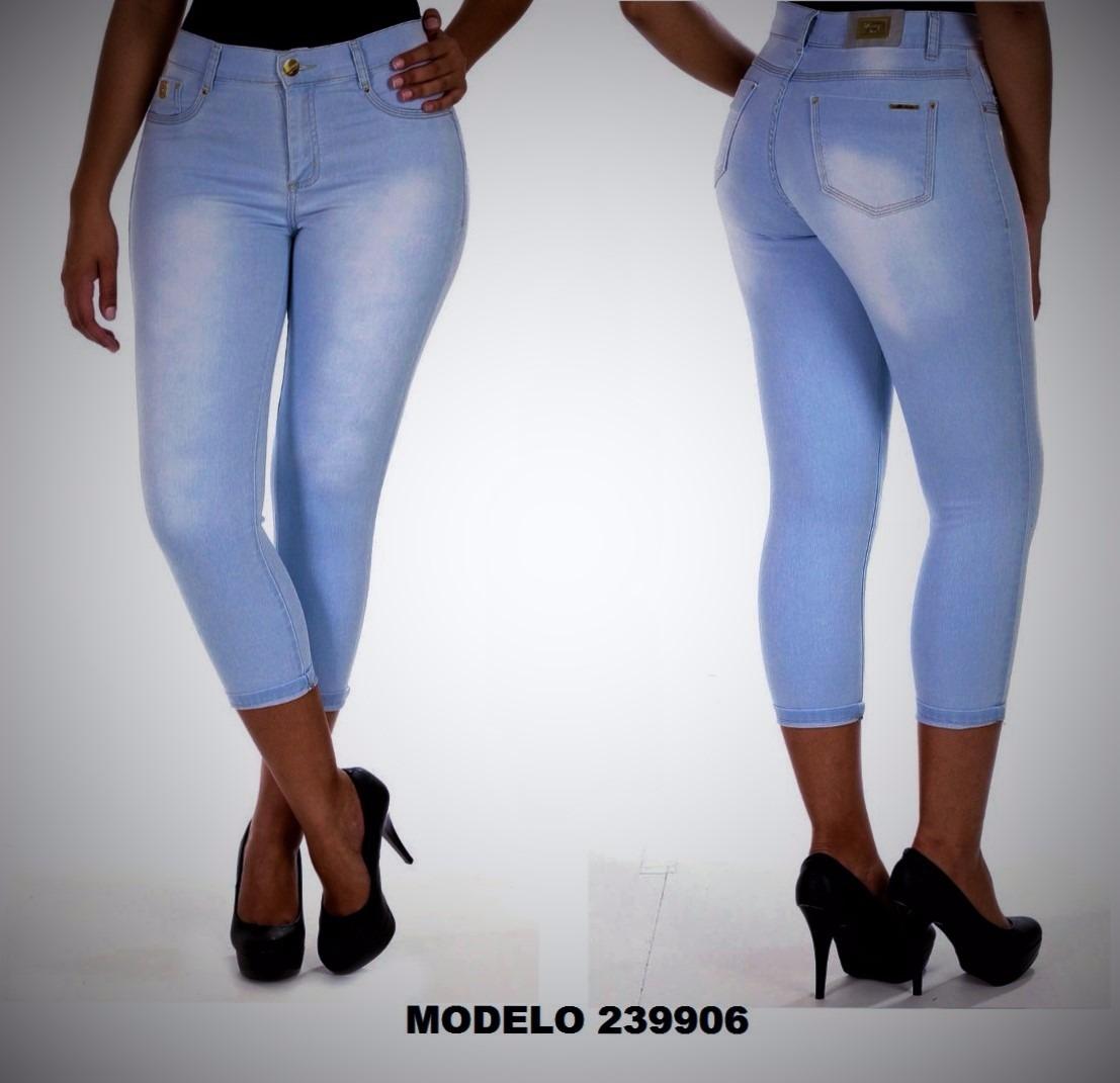 d9e40bde1 Calça Jeans Feminina Cropped Sawary - R$ 120,00 em Mercado Livre