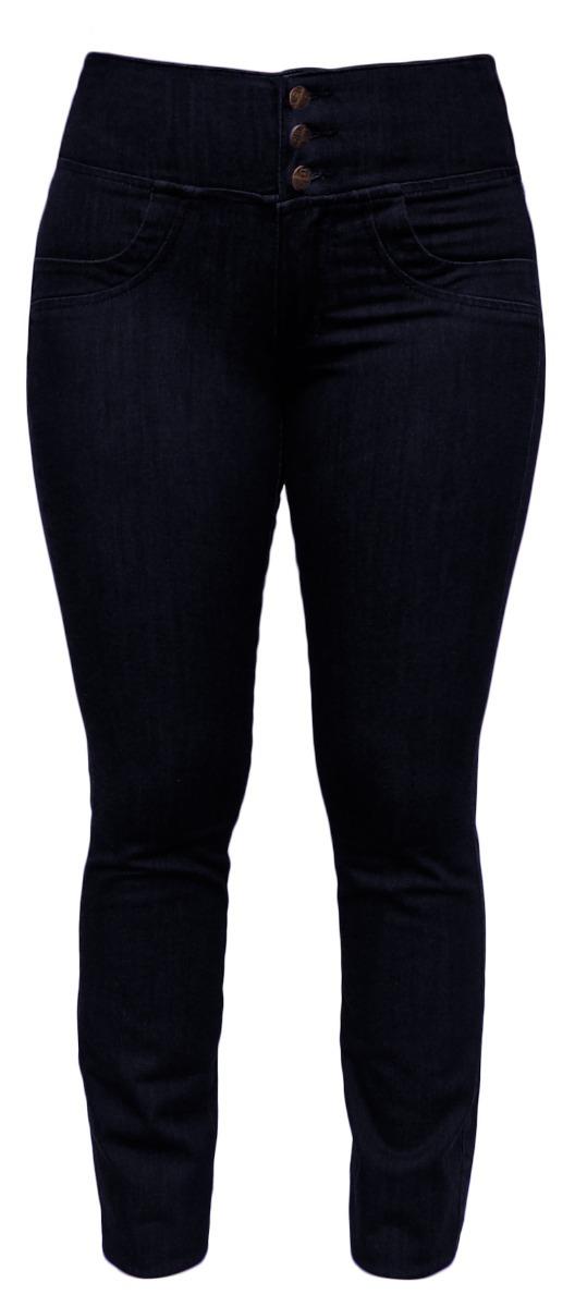 7c3e54759 Calça Jeans Feminina Elástico Cós Traseiro Plus Size - R$ 134,90 em ...
