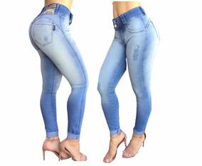 1347b7d0e Calça Set Jeans Deluxe - Calças Sawary Calças Jeans Feminino no ...