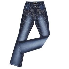 ba06dae61ab7 Calça Jeans Feminina Mix Jeans Com Apliques - Calças Jean com o ...
