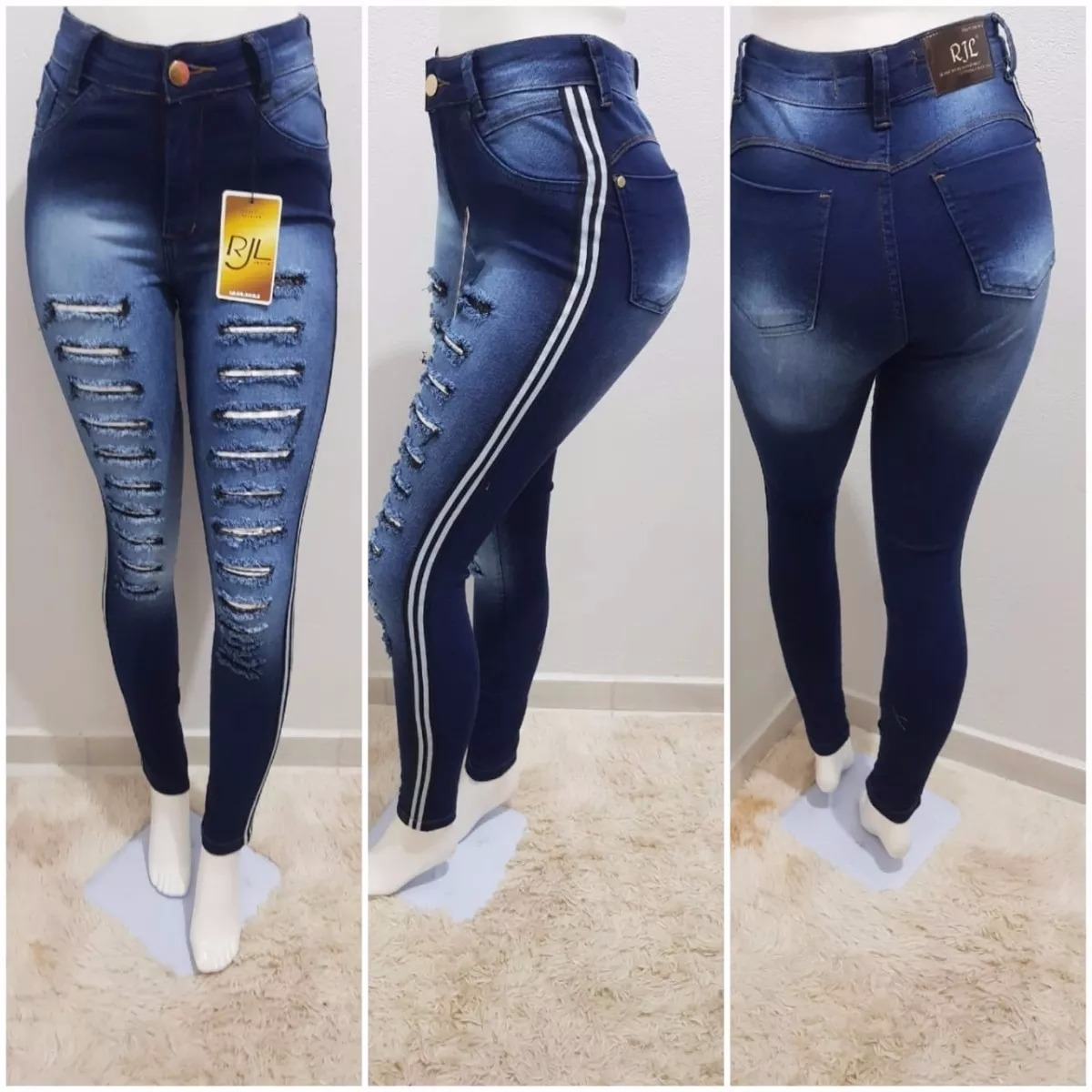 c0e6775da (calça jeans feminina hot pants destroyed customizada). Carregando zoom.