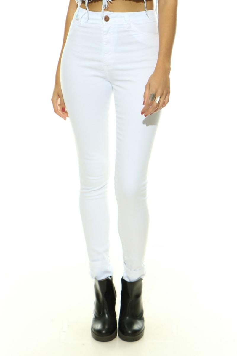 9760ee63b calça jeans feminina lady rock rasgo hot pants cintura alta. Carregando  zoom.