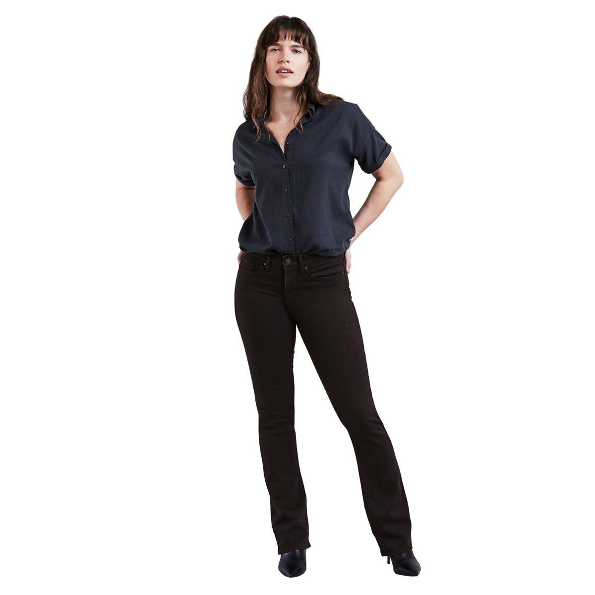 e279e9759 Calça Jeans Feminina Levis 315 Shaping Bootcut Preto - R$ 144,90 em ...