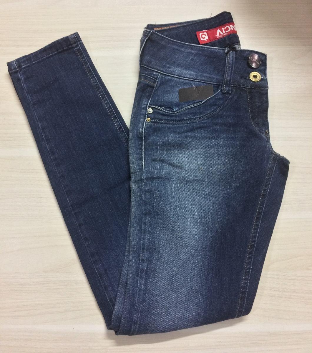 ae567045d calça jeans feminina marca denuncia tam. 38 cigarrete skinny. Carregando  zoom.