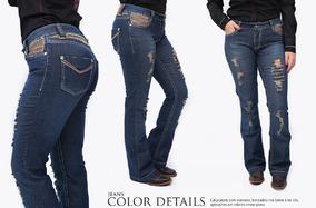 1bb29c8f3a22e Calca Miss Country - Calças Femininas Jean com o Melhores Preços no ...