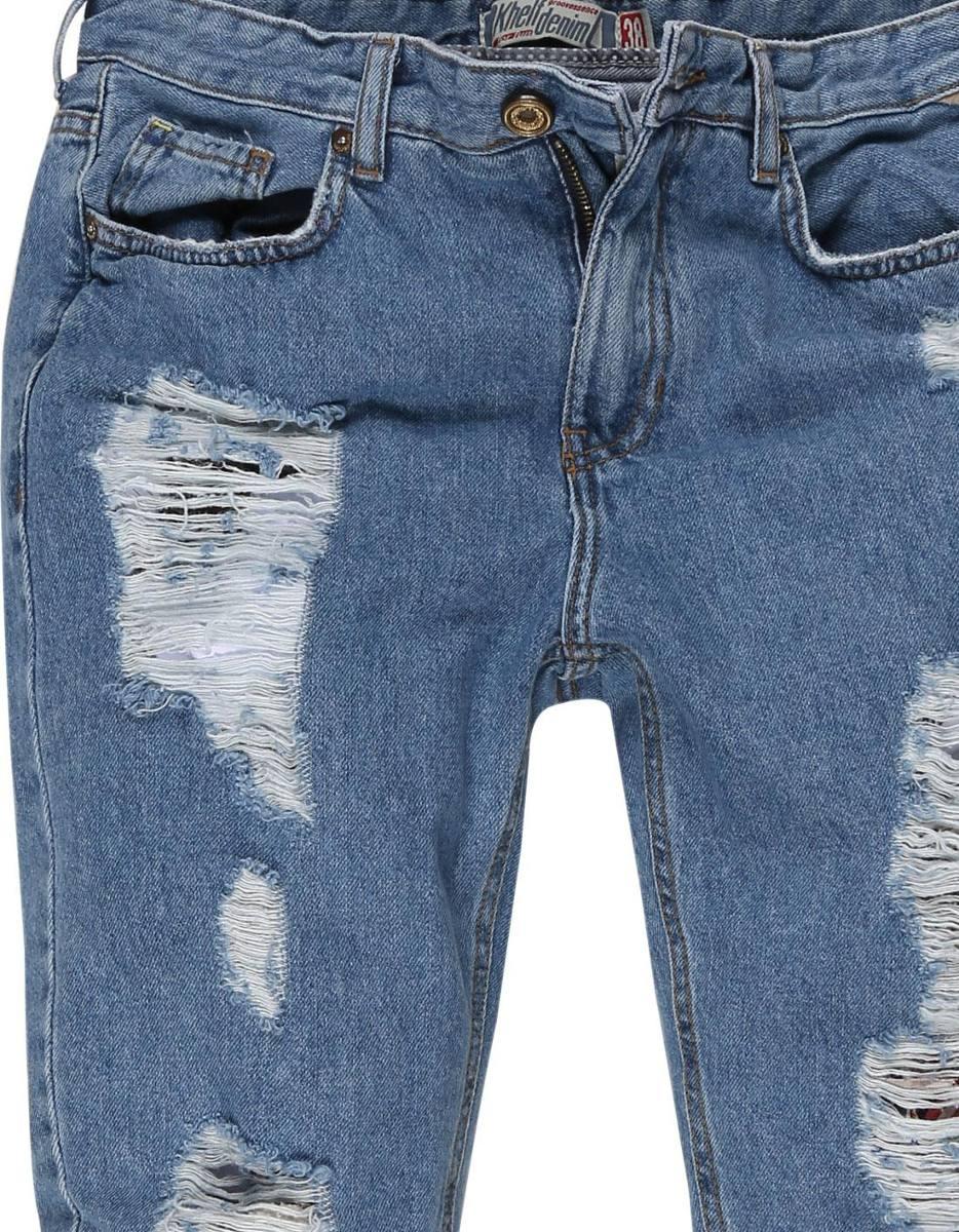 1785d8570 calça jeans feminina mom destroyed. Carregando zoom.
