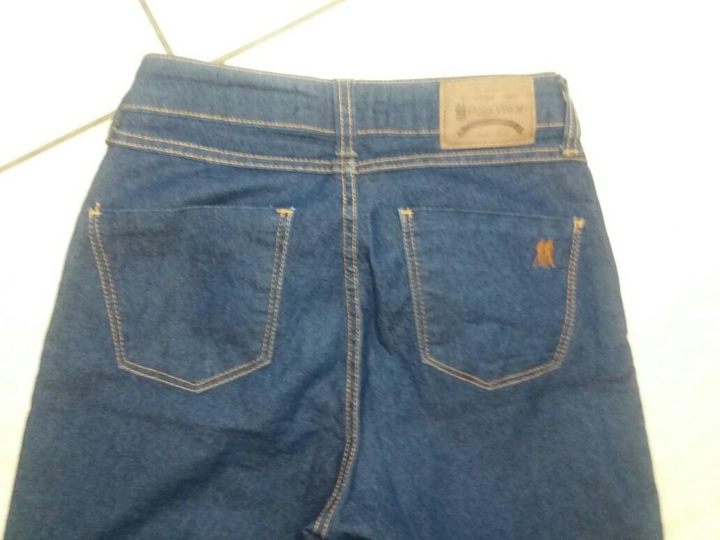 9f73005789 Calça Jeans Feminina N.38 Polo Wear Cintura Alta - R  50