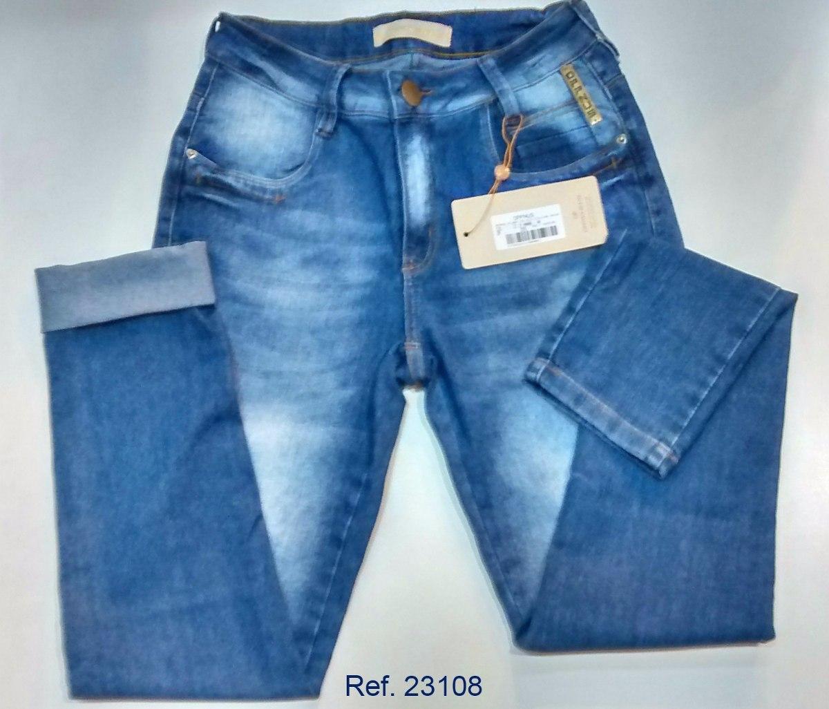 8fa85d18a calça jeans feminina oppnus skinny cos alto 23108. Carregando zoom.