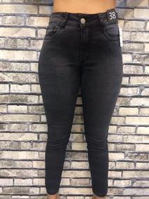 e724383a8b0c Calça Jeans Tamanho Especial Optimist Numero 46 Com Strech - Calças ...