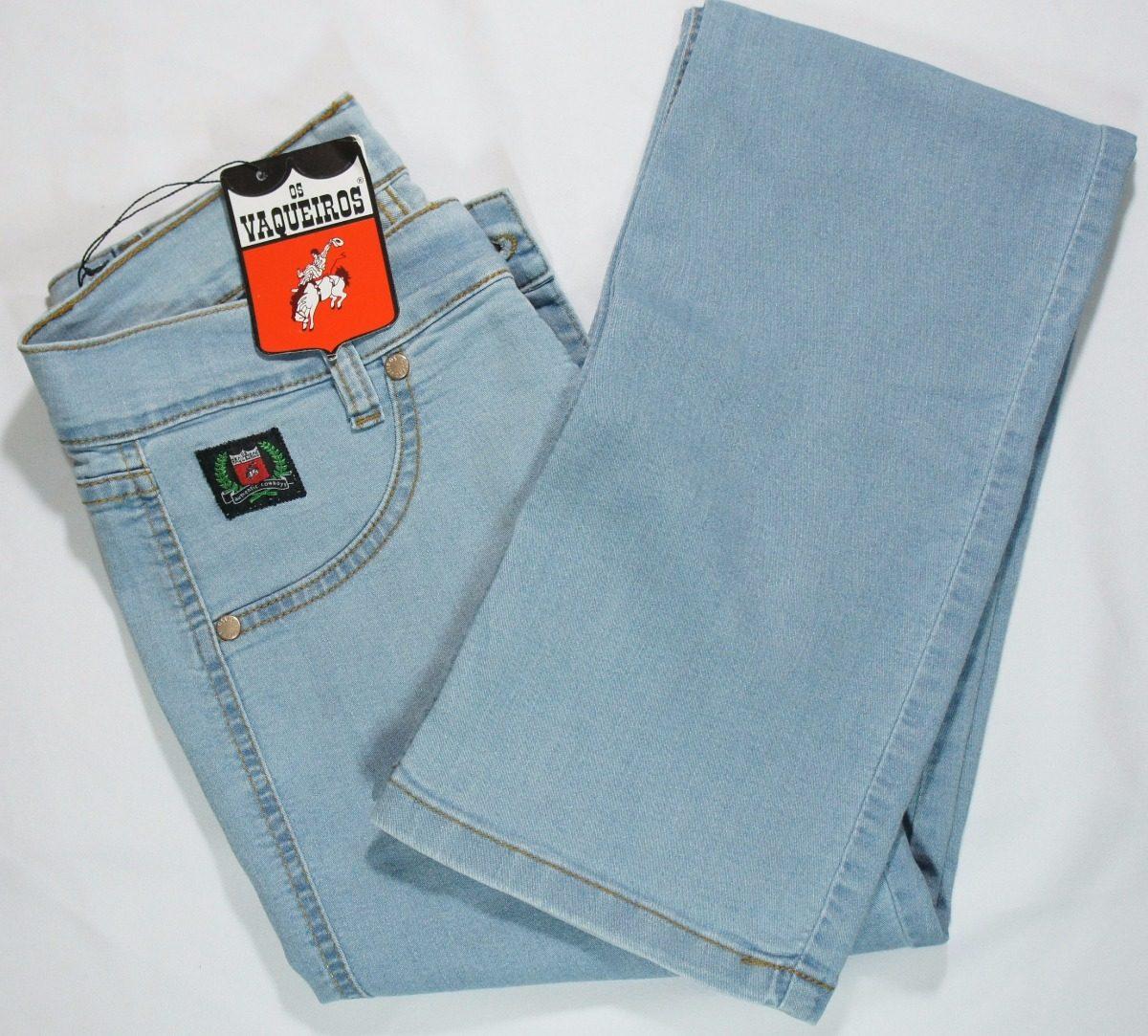 Calça Jeans Feminina Os Vaqueiros Country Rodeio 3001 - R  179 6fb8f2f6028