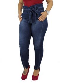 d5518dd04 Linda Calca Mix Jeans Com - Calças Femininas com o Melhores Preços ...
