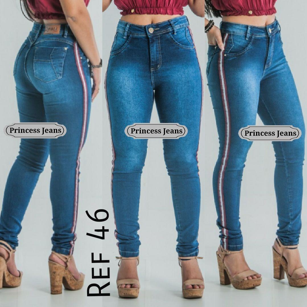 7f7678524 calca jeans feminina promoção skinny e flare cintura alta. Carregando zoom.