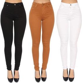 617a5a9ed Calça Flare Jeans - Calças Jeans Feminino Branco em Goiás no Mercado Livre  Brasil