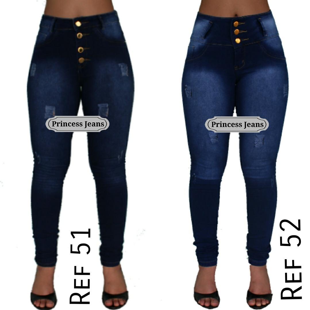 42bc21b7d calca jeans feminina promoção skinny e flare cintura alta. Carregando zoom.