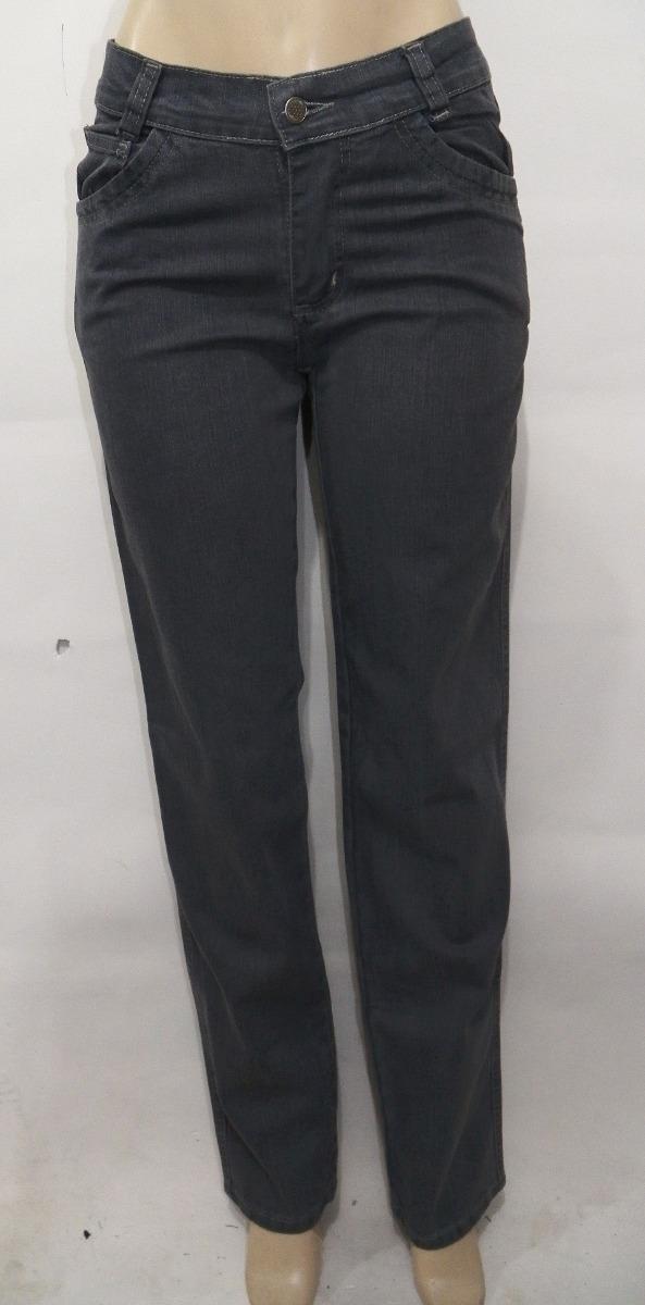 910083c1a calça jeans feminina reta básica cintura alta. Carregando zoom.
