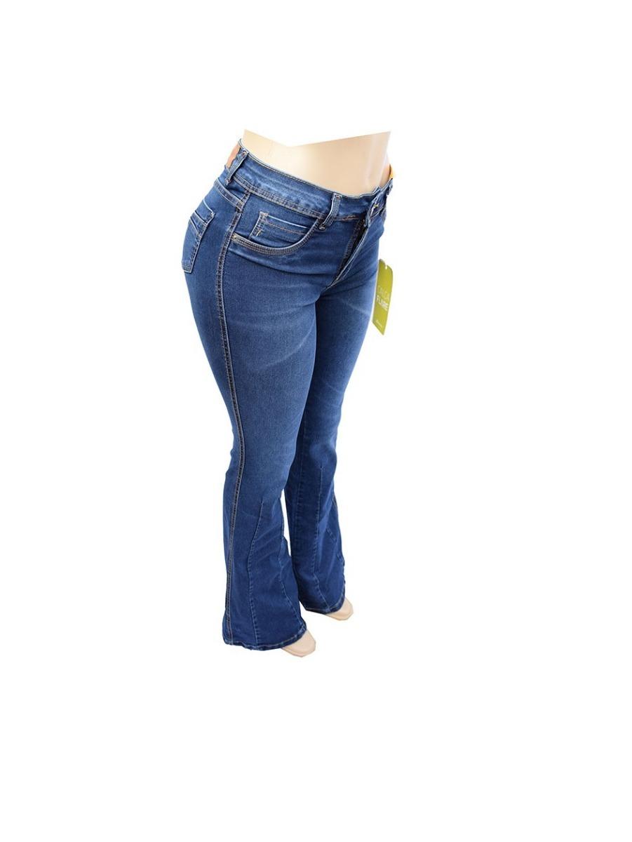 1e86480c3b calça jeans feminina sawary max flare com lycra - 258920. Carregando zoom.